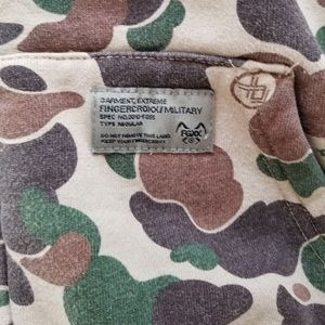 fingercroxx Shirts - FINGERCROXX Camo hoodie